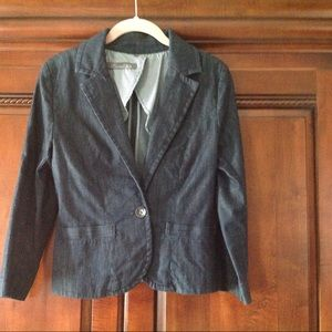 Anthropologie Level 99 Jean Jacket, Size Small